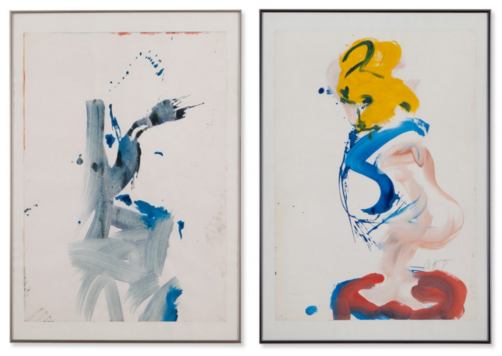 Michael Meyer, Two Abstract Nudes, Germany, 1982