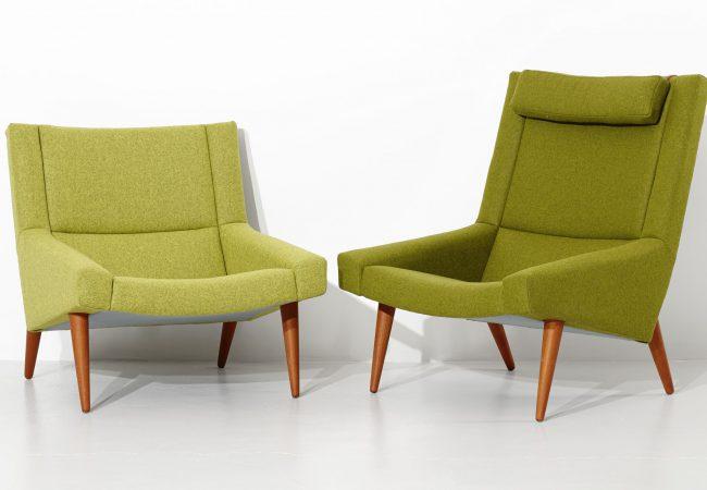 ILLUM Wikkelsø, armchairs, 2 pcs., Denmark. 79x95 cm Price est.: SEK 15,000 Stockholm Auktionsverk