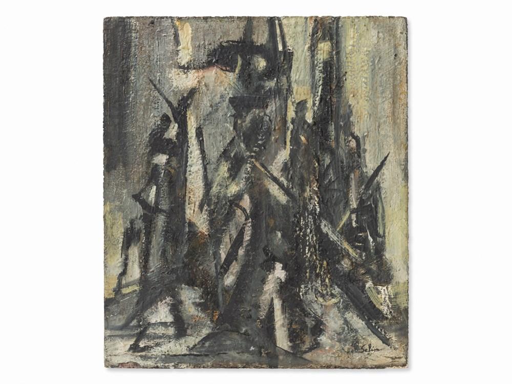 Selim Turan (1915-1994), Abstract Composition, Oil, c. 1950 Price est.: € 11,000 Auctionata