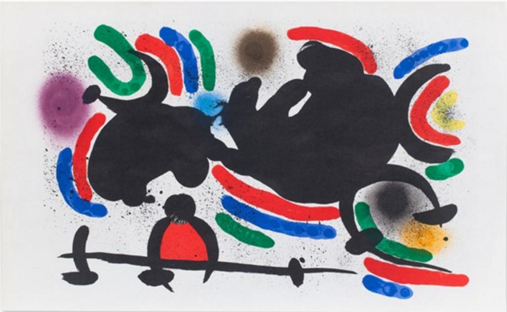 Joan Miró (1893-1983), Color Lithograph, France, 1972 €900 at Auctionata
