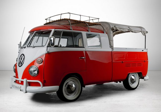 VW T1 Crew Cab, Volkswagen AG, model year 1966. Price est.: € 70,000 Auctionata