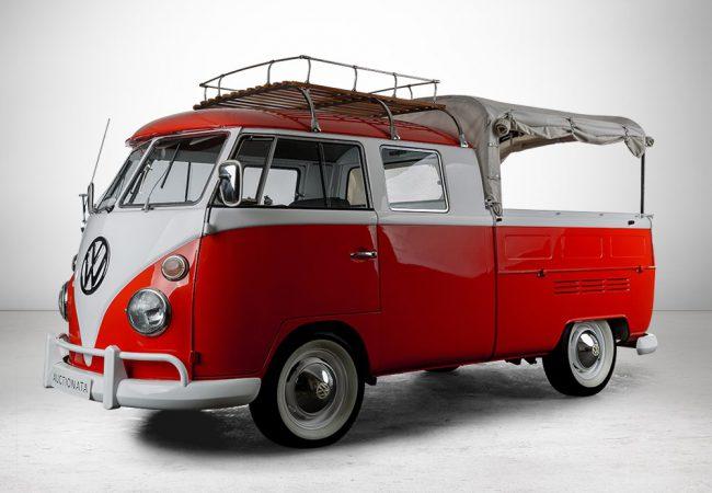 VW T1 Crew Cab, Volkswagen AG, model year 1966. Price est.: € 70,000 Auctionata
