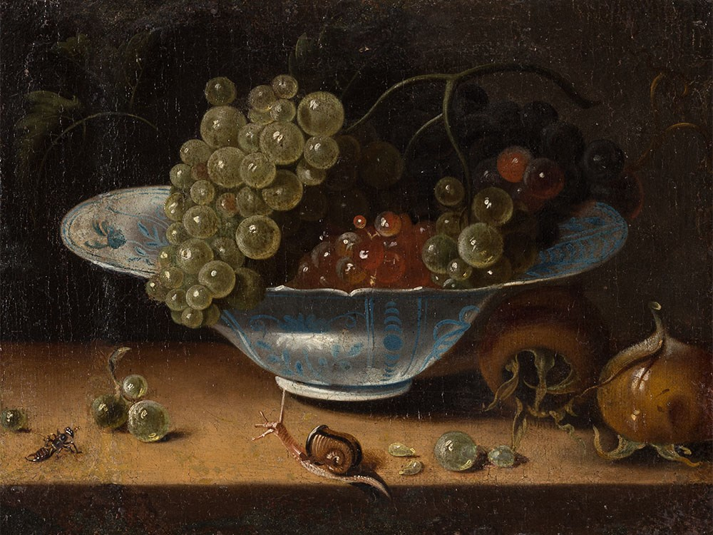 Jacob Marrel (1614-1681), Still Life With Grapes, c. 1670/80 Price est.: € 13,000 Auctionata