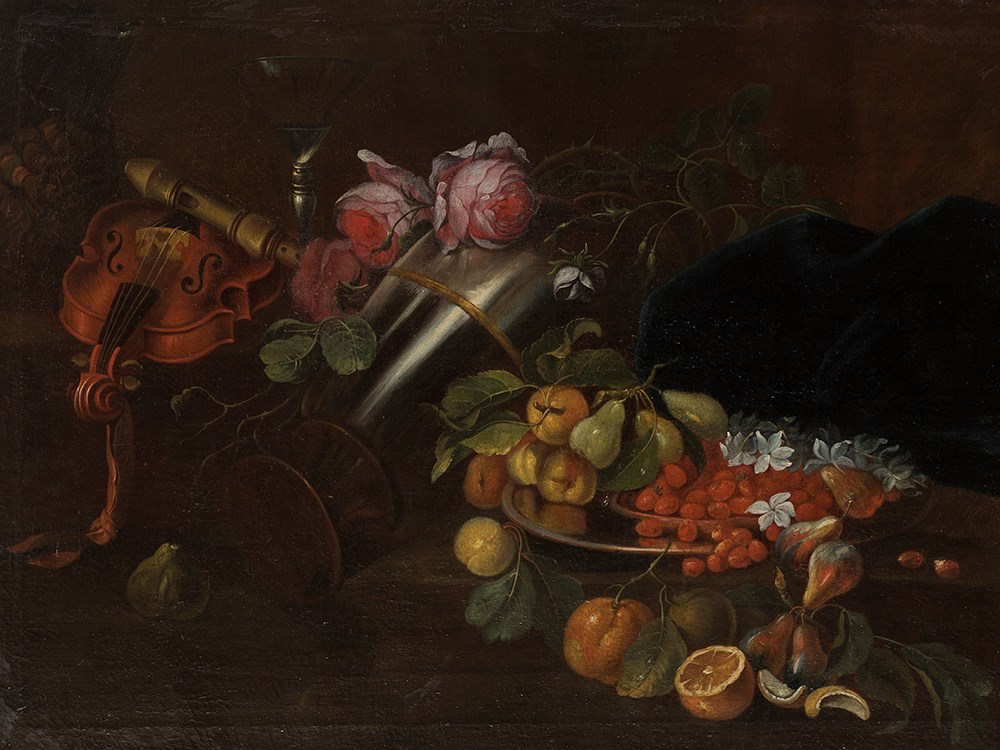 Jean-B. Monnoyer (1636-1699) Follower, Still Life, 18th C. French painter. Price est.: € 3,600 Auctionata