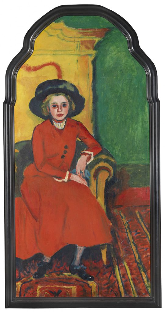 HERMANN MAX PECHSTEIN Portrait of Charlotte Cuhrt, 1910. Oil on Canvas. Sold for: € 825.000 at Ketterer Kunst. Photo courtesy of Ketterer Kunst