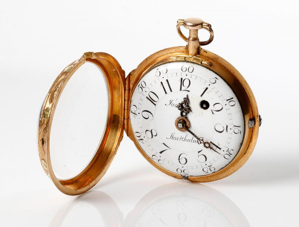 Pocket watch by James Cook. 1776-1777. 18K Gold.