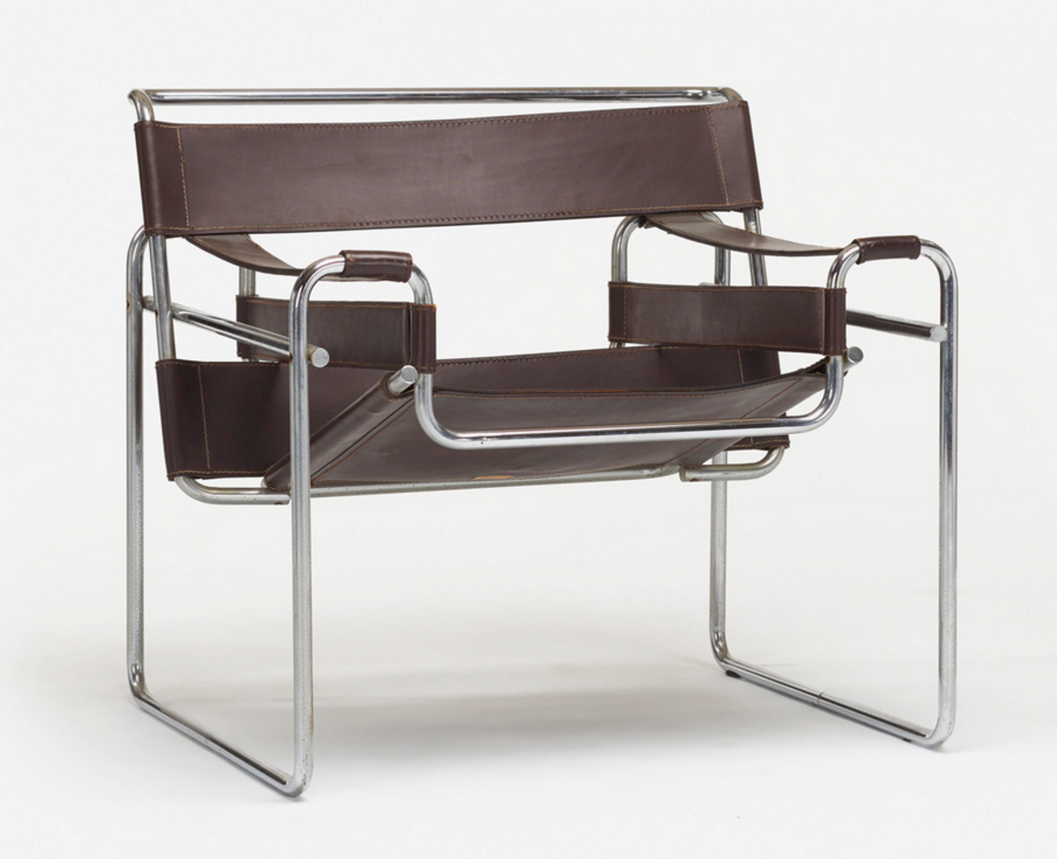 find of the week wassily chair by marcel breuer mearto. Black Bedroom Furniture Sets. Home Design Ideas