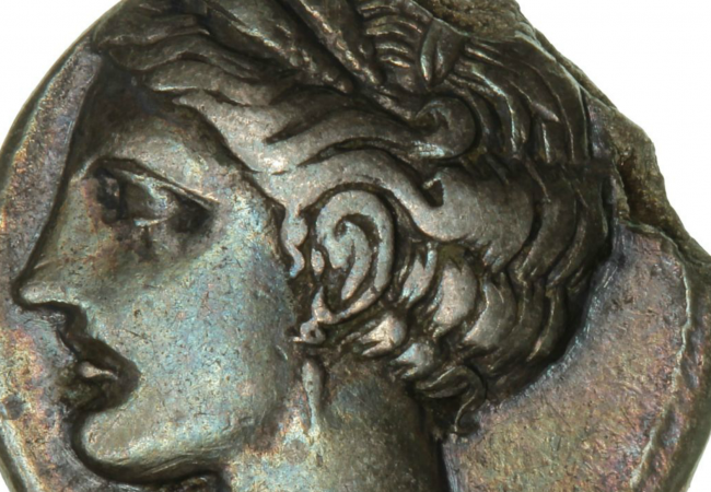 Find of the Week – A 2300 year-old Carthaginian coin