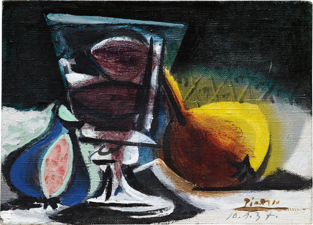 Pablo Picasso, Nature morte, 1937. Oil on canvas. Est.: $900,000 - 1,200,000 Sold for: $965,000 at Phillips