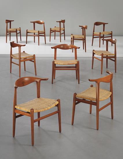 wegner-cowhorn-chairs