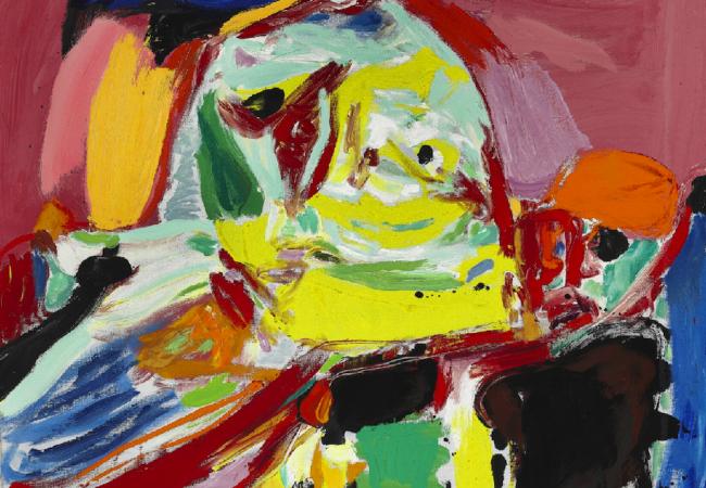 """Asger Jorn, """"Quand la lumière se fait"""". 1969. Oil on canvas. 81 x 100 cm. Price est.: € 270,000-335,000 Bruun Rasmussen"""