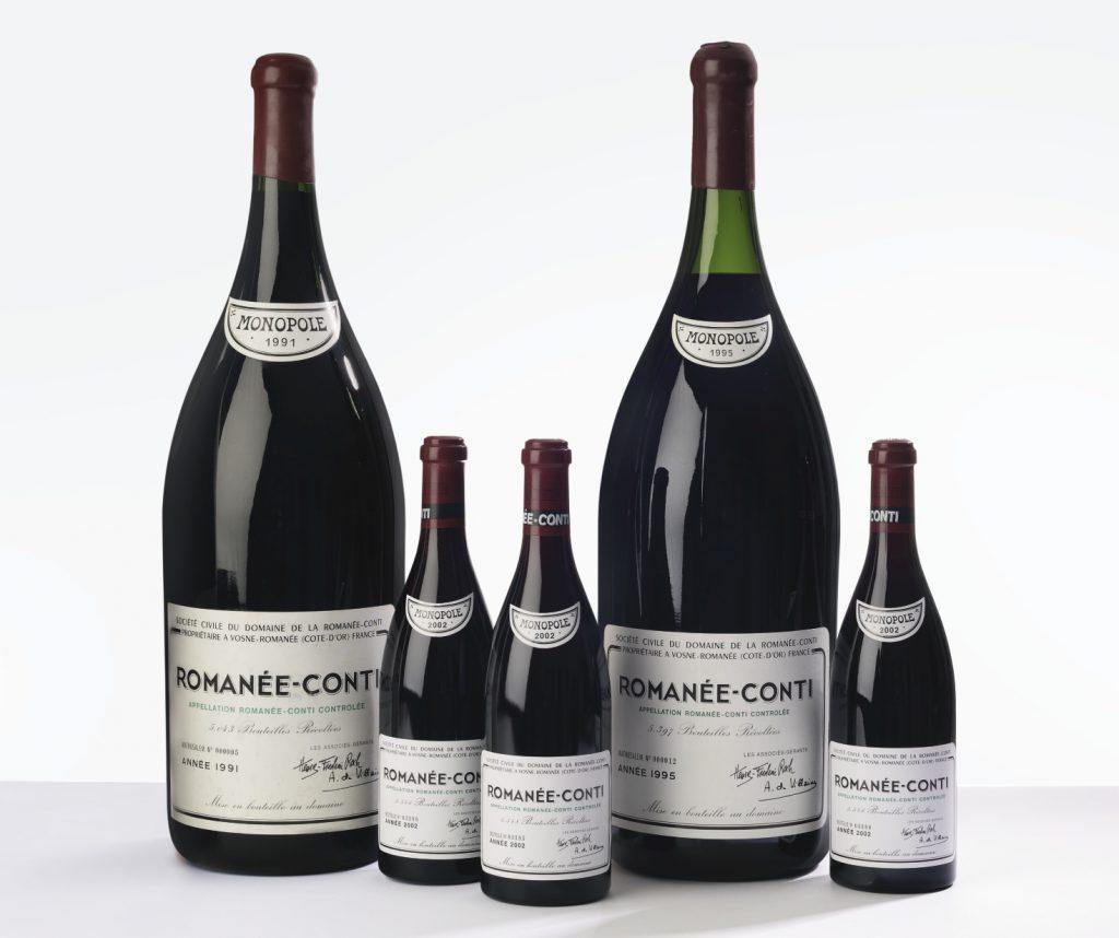 Romanée Conti 2002 Domaine de la Romanée-Conti, Côte de Nuits, Grand Cru. 6 bts (sc), Sold for 98,000 USD at Sotheby's