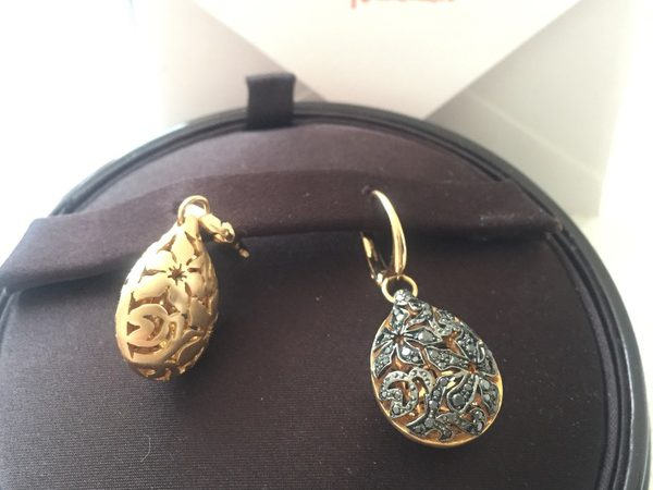 What is a Pomellato earring set worth?