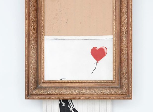 Banksy's 'Girl With Balloon' – A higher post-destruction price is inevitable