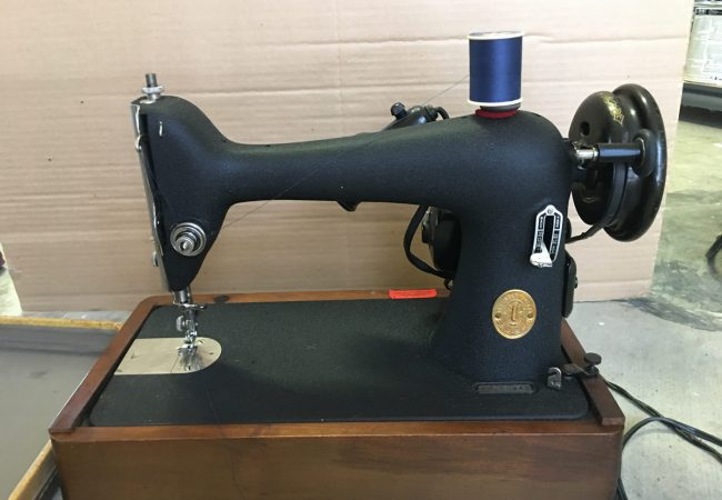 What is your antique Singer sewing machine worth?